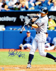 "Ichiro Suzuki Autographed 16x20 Photo Seattle Mariners ""#51"" IS Holo Stock #17967"