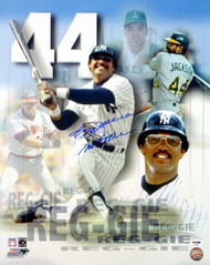 "Reggie Jackson Autographed 16x20 Photo New York Yankees ""Mr. October"" PSA/DNA Stock #19082"