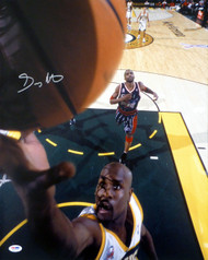 Gary Payton Autographed 16x20 Photo Seattle Sonics PSA/DNA Stock #22615