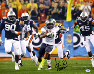 LaMichael James Autographed 16x20 Photo Oregon Ducks PSA/DNA RookieGraph Stock #22764
