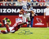 Doug Baldwin Autographed 16x20 Photo Seattle Seahawks MCS Holo Stock #45807