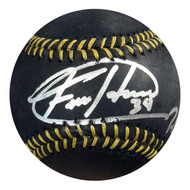 "Felix Hernandez Autographed Official MLB Baseball Seattle Mariners ""PG 8-15-12"" MLB Holo Stock #61541"