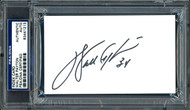 Walter Payton Autographed 3x5 Index Card Chicago Bears PSA/DNA Stock #64589