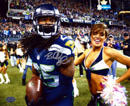 Richard Sherman Autographed 8x10 Photo Seattle Seahawks RS Holo Stock #71424