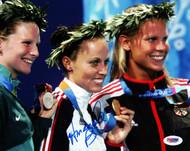 Amanda Beard Autographed 8x10 Photo Team USA PSA/DNA #L65556