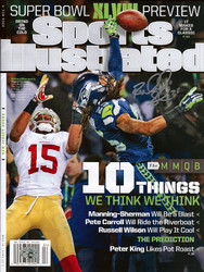 Richard Sherman Autographed Sports Illustrated Magazine Seattle Seahawks RS Holo Stock #72612