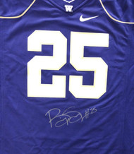 Washington Huskies Bishop Sankey Autographed Purple Nike Jersey Size L MCS Holo Stock #73078