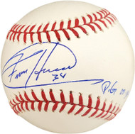 "Felix Hernandez Autographed Official MLB Baseball Seattle Mariners ""PG 8-15-12"" MLB Holo Stock #74026"