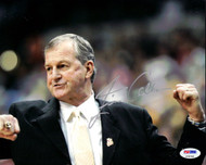Jim Calhoun Autographed 8x10 Photo UConn Huskies PSA/DNA #P78748