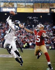 Byron Maxwell Autographed 16x20 Photo Seattle Seahawks MCS Holo Stock #76409