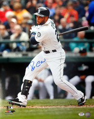 Robinson Cano Autographed 16x20 Photo Seattle Mariners PSA/DNA ITP Stock #78170