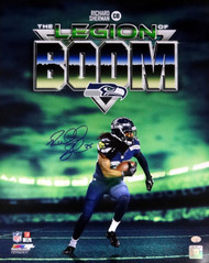 Richard Sherman Autographed 16x20 Photo Seattle Seahawks Legion of Boom RS Holo Stock #85974
