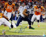 Doug Baldwin Autographed 16x20 Photo Seattle Seahawks Super Bowl MCS Holo Stock #86876