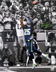 Richard Sherman Autographed 16x20 Photo Seattle Seahawks RS Holo Stock #86890