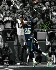 Richard Sherman Autographed 8x10 Photo Seattle Seahawks RS Holo Stock #86891