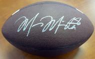 Sale!! Marcus Mariota Autographed Brown Nike Logo Football Oregon Ducks MM Holo Stock #87158