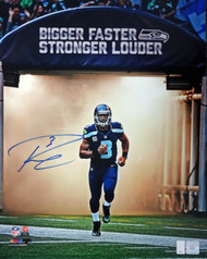 Russell Wilson Autographed 16x20 Photo Seattle Seahawks RW Holo Stock #88008