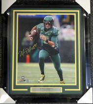 Sale!! Marcus Mariota Autographed Framed 16x20 Photo Oregon Ducks MM Holo Stock #89813