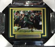 Sale!! Marcus Mariota Autographed Framed 8x10 Photo Oregon Ducks MM Holo Stock #89817