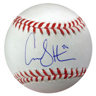 Carson Smith Autographed Official MLB Baseball Boston Red Sox MCS Holo Stock #90136