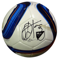 Obafemi Martins Autographed Adidas Nativo Soccer Ball Seattle Sounders MCS Holo Stock #90814