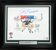 Joe Namath Autographed Framed 16x20 Photo New York Jets PSA/DNA Stock #91040