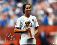Carli Lloyd Autographed 16x20 Photo Team USA PSA/DNA ITP Stock #93005
