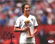 Carli Lloyd Autographed 8x10 Photo Team USA PSA/DNA ITP Stock #93088