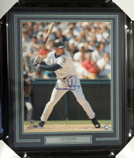 Jay Buhner Autographed Framed 16x20 Photo Seattle Mariners MCS Holo Stock #94165