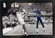 Sale!! Richard Sherman Autographed Framed 20x30 Canvas Photo Seattle Seahawks The Tip #/125 RS Holo Stock #94468