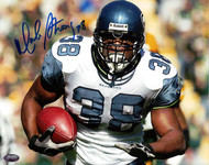Mack Strong Autographed 8x10 Photo Seattle Seahawks MCS Holo Stock #97726