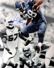 Mack Strong Autographed 16x20 Photo Seattle Seahawks MCS Holo Stock #98147