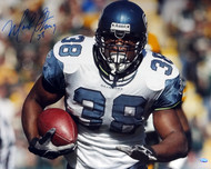 Mack Strong Autographed 16x20 Photo Seattle Seahawks MCS Holo Stock #98148