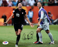 Abby Wambach Autographed 8x10 Photo Team USA PSA/DNA Stock #101378