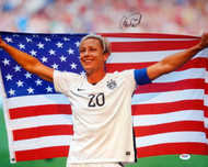 Abby Wambach Autographed 16x20 Photo Team USA PSA/DNA Stock #103200