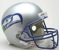 Unsigned Seattle Seahawks Full Size Throwback Helmet (1983-2001) Stock #105700