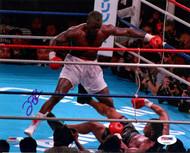 "James ""Buster"" Douglas Autographed 8x10 Photo Vs. Tyson In Blue PSA/DNA Stock #105964"