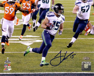 Jermaine Kearse Autographed 8x10 Photo Seattle Seahawks Super Bowl XLVIII MCS Holo Stock #106268