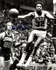 """Downtown"" Fred Brown Autographed 8x10 Photo Seattle Sonics MCS Holo Stock #107007"