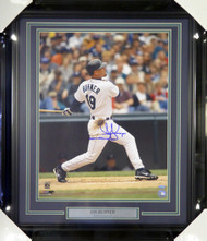 Jay Buhner Autographed Framed 16x20 Photo Seattle Mariners MCS Holo Stock #107773