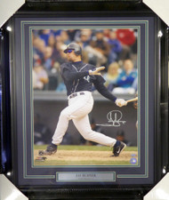 Jay Buhner Autographed Framed 16x20 Photo Seattle Mariners MCS Holo Stock #107775