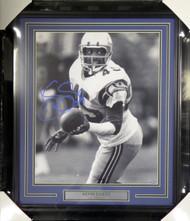 Kenny Easley Autographed Framed 16x20 Photo Seattle Seahawks MCS Holo Stock #107948