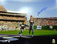 "Steve Largent Autographed 16x20 Photo Seattle Seahawks ""HOF 95"" MCS Holo Stock #112512"
