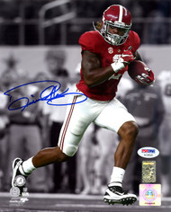 Derrick Henry Autographed 8x10 Photo Alabama Crimson Tide PSA/DNA ITP Stock #113485
