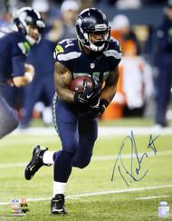 Thomas Rawls Autographed 16x20 Photo Seattle Seahawks MCS Holo Stock #113551