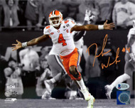 Deshaun Watson Autographed 8x10 Photo Clemson Tigers Beckett BAS Stock #113713