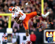 Deshaun Watson Autographed 8x10 Photo Clemson Tigers Beckett BAS Stock #113715