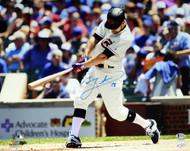 Ben Zobrist Autographed 16x20 Photo Chicago Cubs Beckett BAS Stock #115079