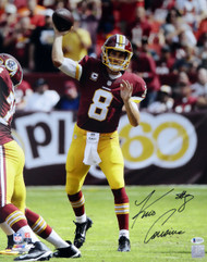 Kirk Cousins Autographed 16x20 Photo Washington Redskins Beckett BAS Stock #115083