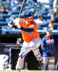 Tyler White Autographed 8x10 Photo Houston Astros MCS Holo Stock #119625